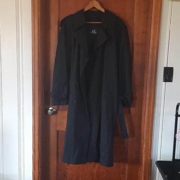 Men's Full length lined trench coat